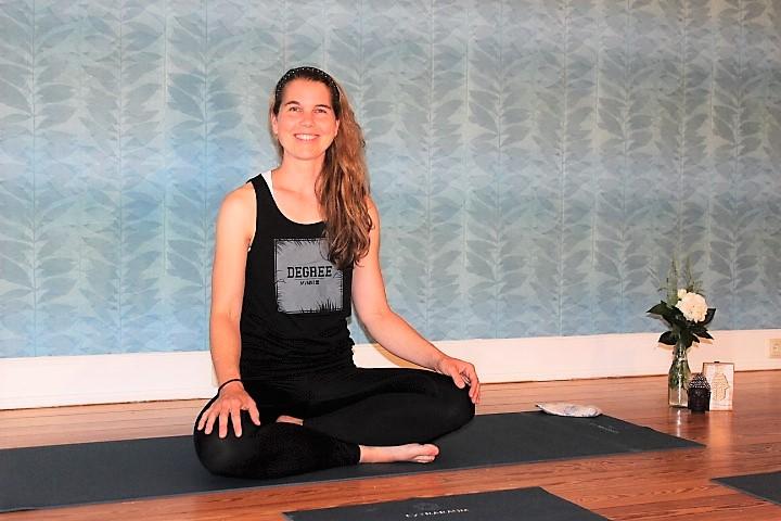 Kirstin Sternel Kleiner Freitag Flow Yoga Kurs Extraraum Hamburg